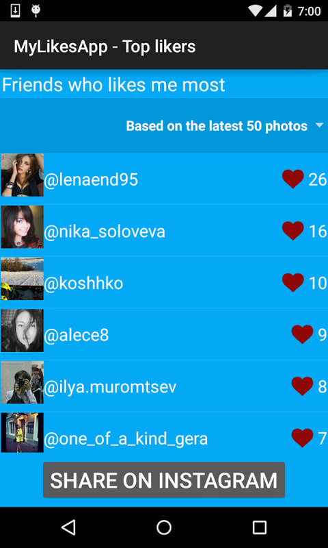 ML - Instagram likes Free Samsung Galaxy S2 Duos App download