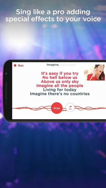 Red Karaoke Sing & Record Free HTC ChaCha App download - Download