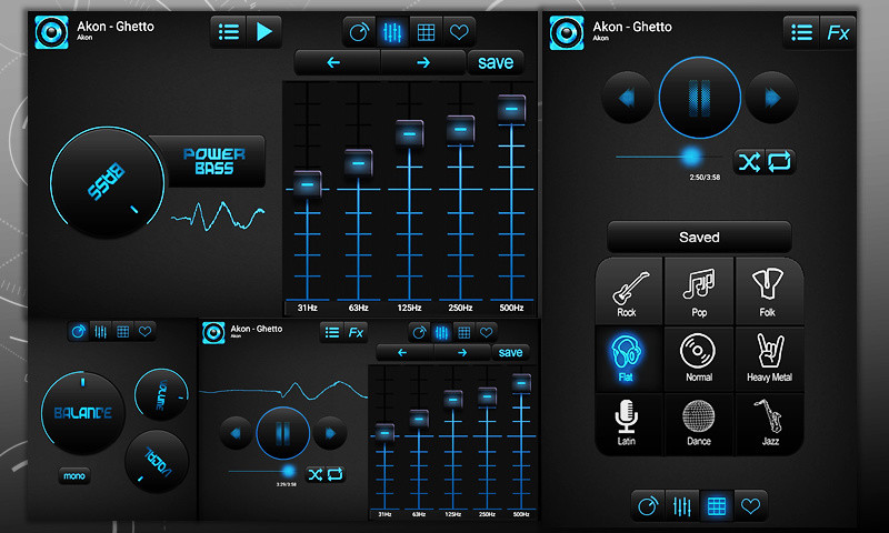 Bass Booster and Equalizer Free Sony Ericsson Live with