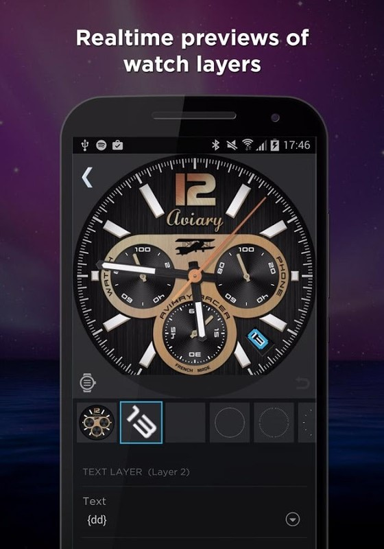 WatchMaker Watch Face Free Samsung Galaxy S3 App download - Download