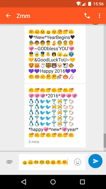 Happy New Year Emoji Art Free T-Mobile SpringBoard App