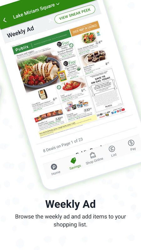 Mobile - Publix Super Market's Weekly Ad provides the most up-do-date listings and information for weekly sales at your local Publix Super Market. Check back every week to .