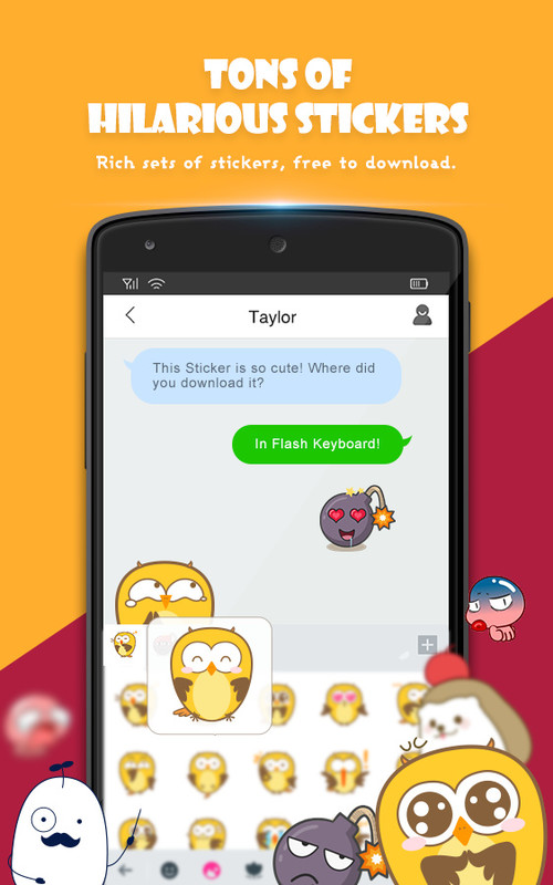 Use emojis directly from its keyboard counterpart of your Samsung Galaxy S2