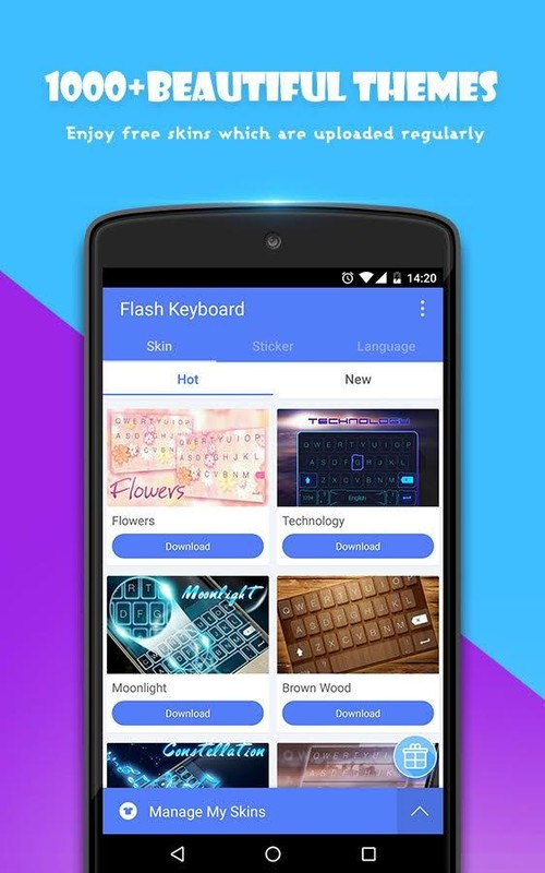 android themes for samsung galaxy y free download