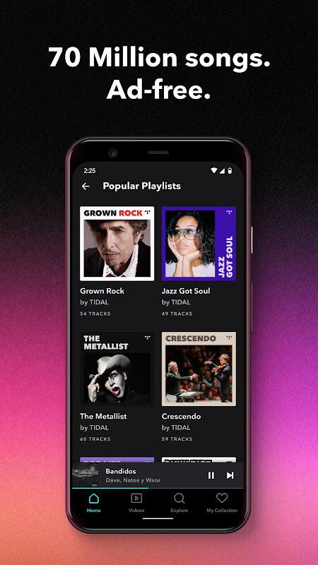 TIDAL Music - Hifi Songs, Playlists, & Videos Free Samsung