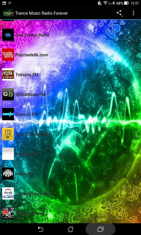 Trance Music Radio Forever Free Android App download - Download the