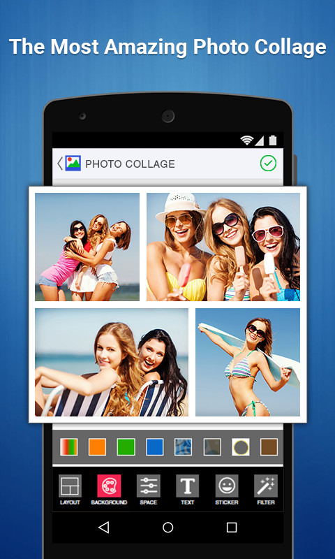 Photo Collage Editor Free Android App download - Download the Free