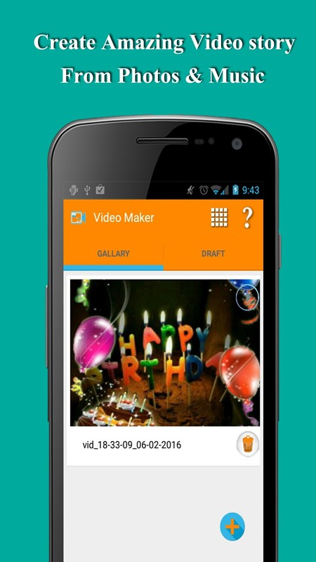 how to make a video slideshow on your phone