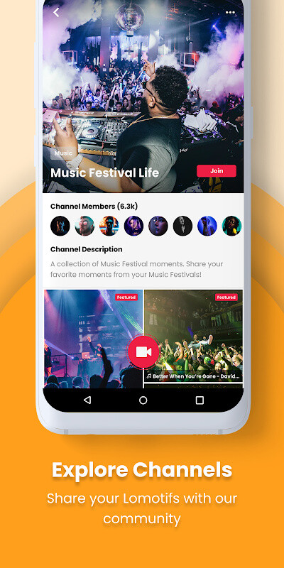Lomotif - Music Video Editor Free Samsung Galaxy Note 10 1 App