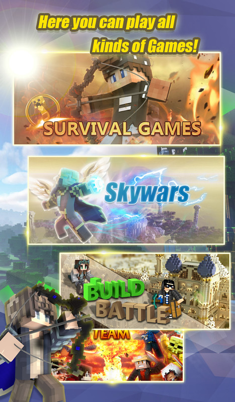 Blockman Multiplayer for Minecraft Free Sony Ericsson Live
