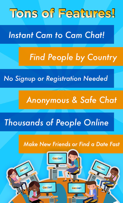 Camsurf: Meet People & Chat Free Android App download - Download the