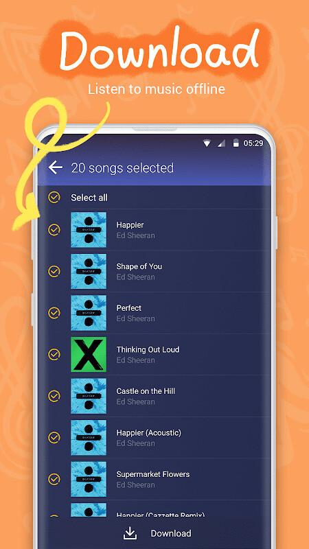 GO Music - Free Music, Equalizer, Themes Free Samsung Galaxy S3 App