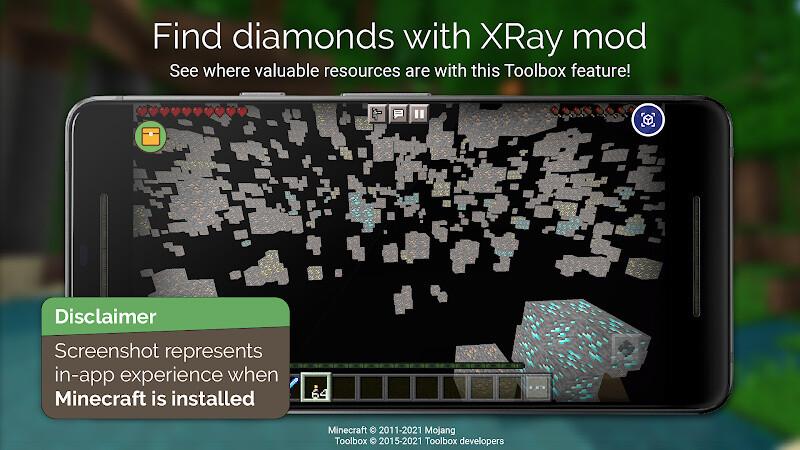 Toolbox for Minecraft: PE Free LG Optimus 4G LTE App