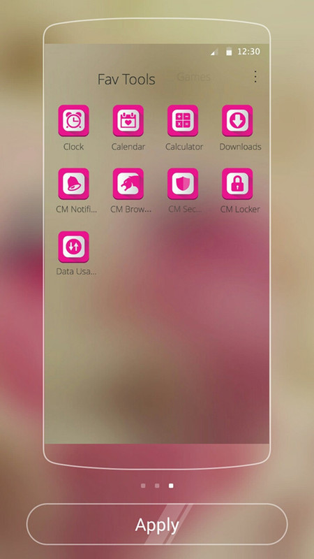 Love Rose Theme for CM Launcher Free Android App download - Download