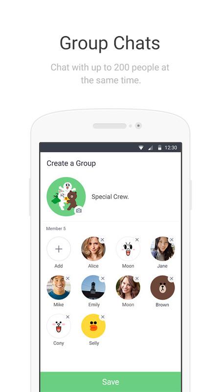 LINE Lite: Free Messages Free Samsung Galaxy Y App download