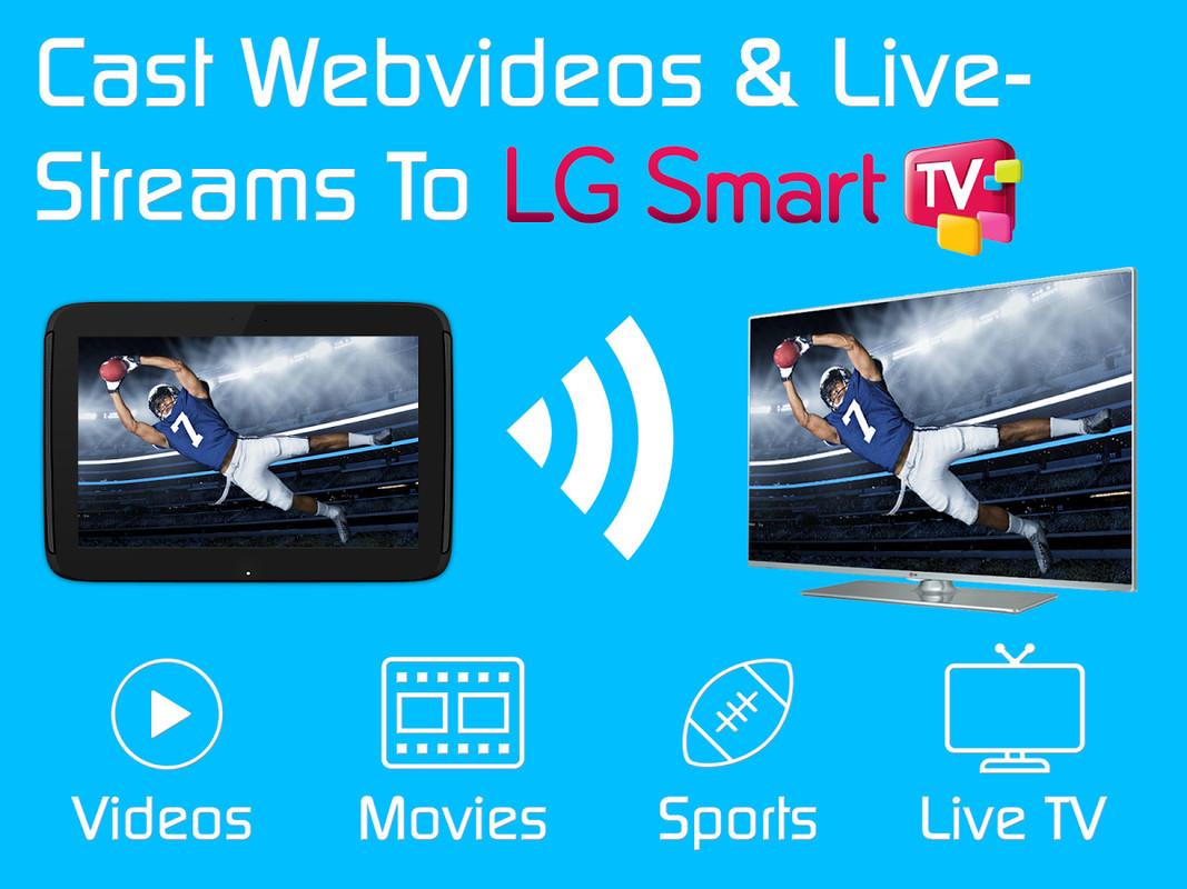 Video & TV Cast | LG Smart TV Free LG Spectrum App download