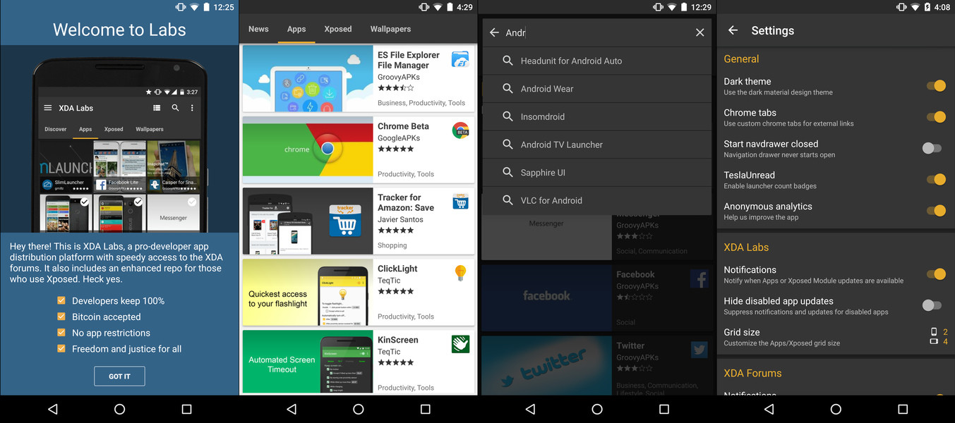 XDA Labs Free Android App download - Download the Free XDA