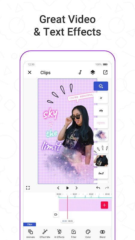 Funimate: Music Video Clip Editor to be Video Star Free Android App
