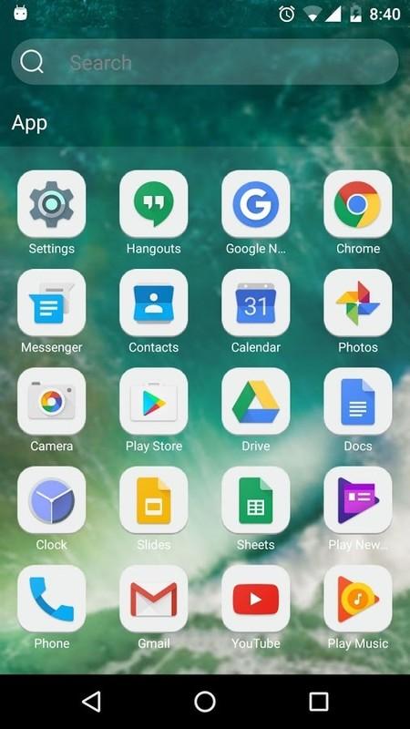Launcher for IOS 10 Free Motorola Droid Razr App download - Download