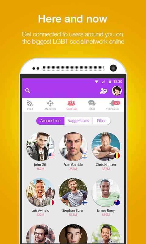 Lgbt Social Network App