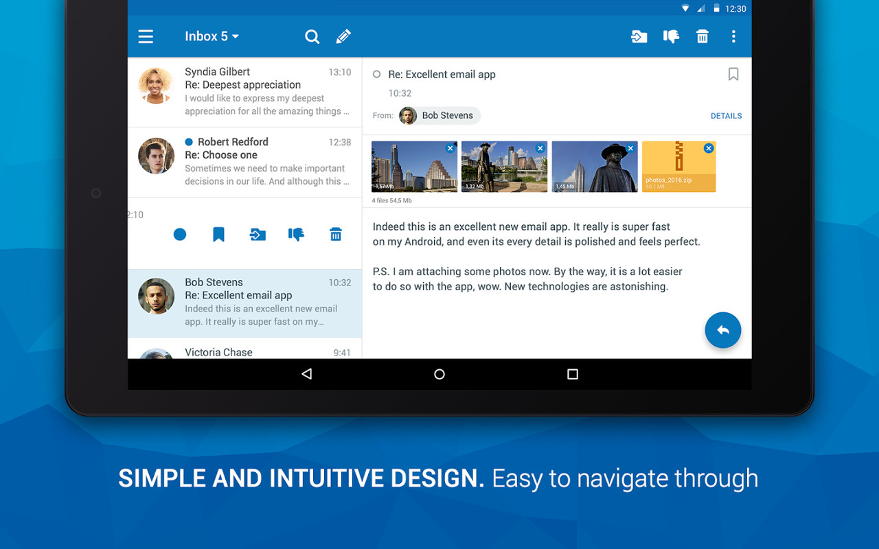 how to download outlook email to android phone