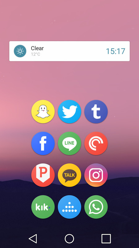 Pixel Icon Pack-Nougat Free UI Free Samsung Galaxy Y App download