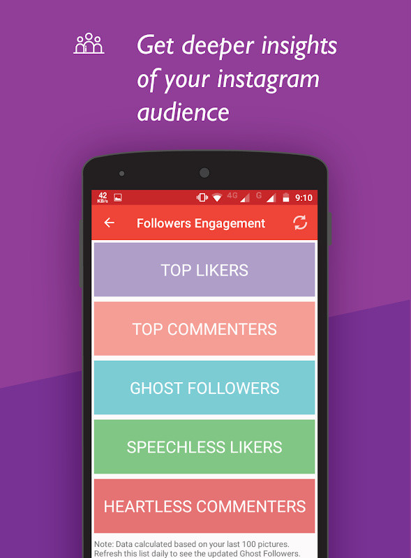 Unfollowers for Instagram, Follow Cop Free Android App