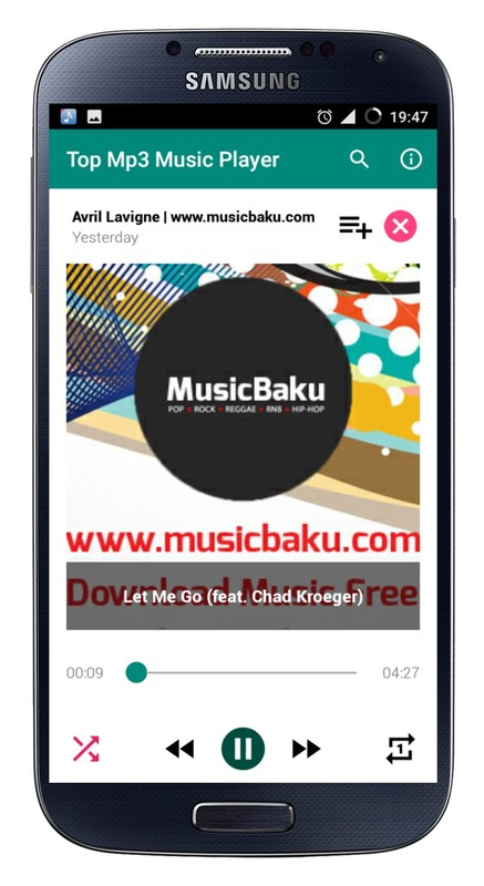 Top Mp3 Music Player Free Android App download - Download the Free