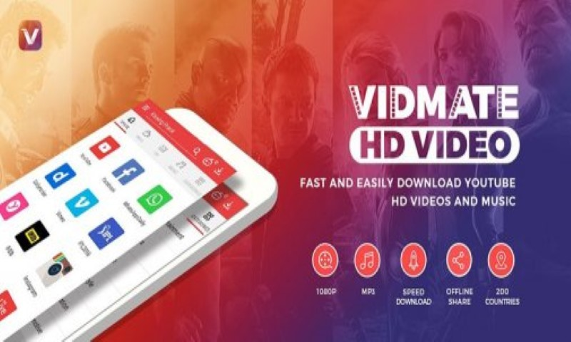 Vidmate Hd Video Downloader 2017 Free Android App Download