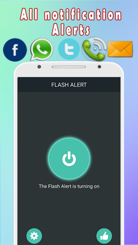 Color Flash Light Alert Calls Free Android App download