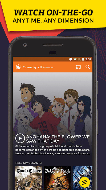 VRV: Anime, game videos & more Free Android App download