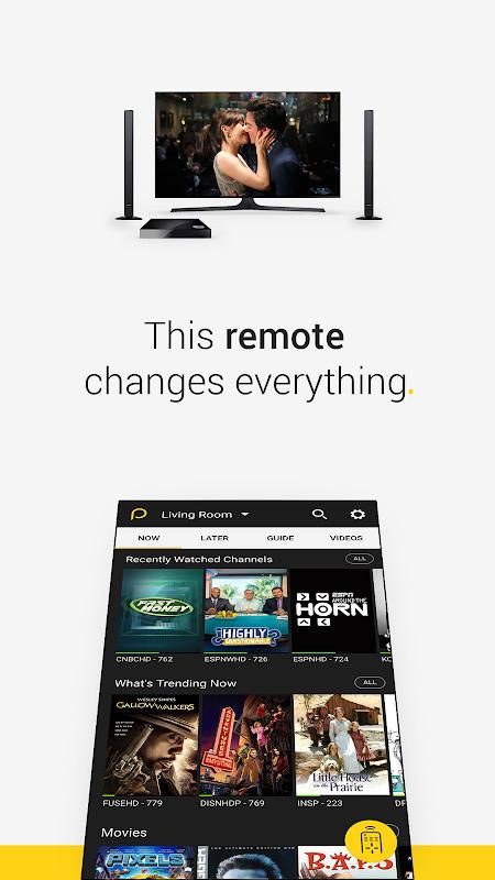 Peel Universal Smart TV Remote Control Free Samsung Galaxy S2 App