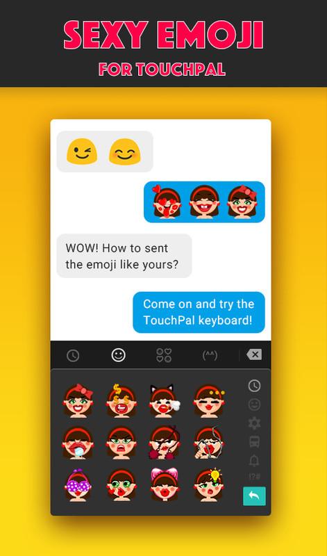Free Adult Sexy SM Emoji Pack Free HTC ChaCha App download
