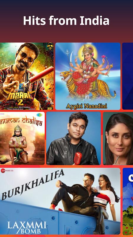 Gaana: Bollywood Music & Radio Free Samsung Galaxy Y Duos