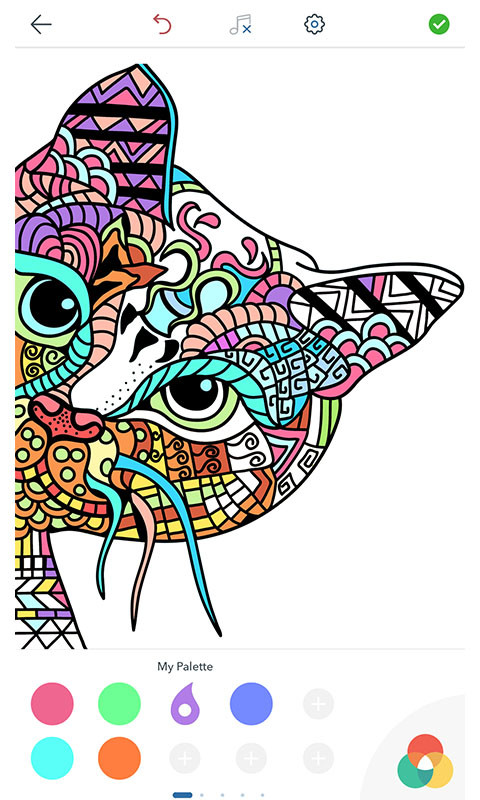 Cat Coloring Pages For Adults Free Android App Download