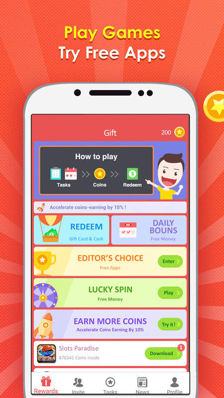 Gift Wallet - Free Reward Card Free Android App download