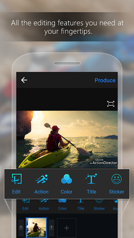 ActionDirector Video Editor - Edit Videos Fast Free Android App
