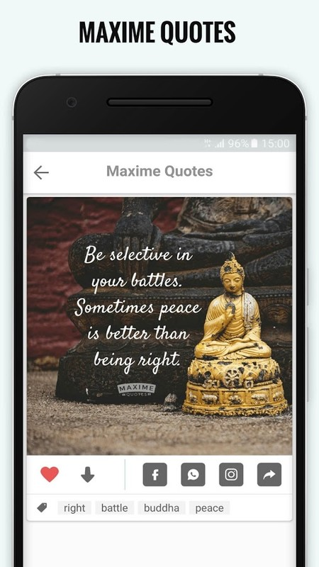 Inspirational Quotes Maxime Free Android App Download Download