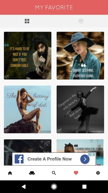 Fashion Quotes Free Android App download - Download the Free