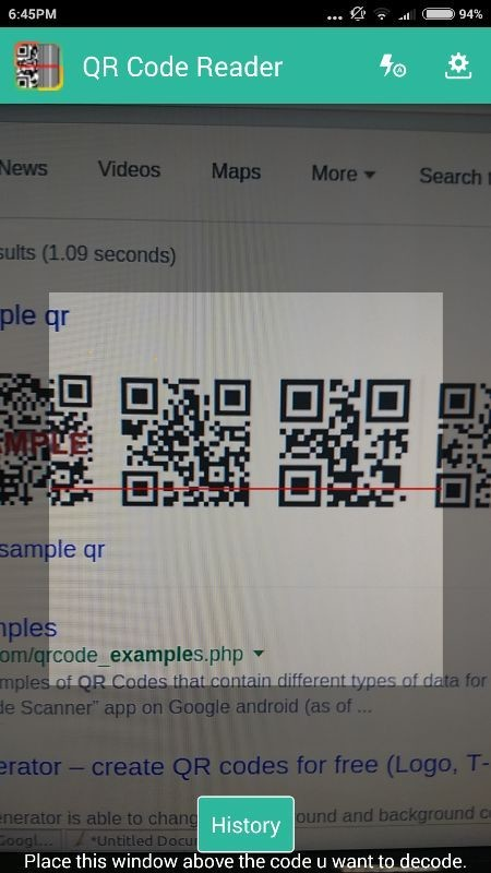Download quickmark qr code reader 4. 0. 3 (free) for android.