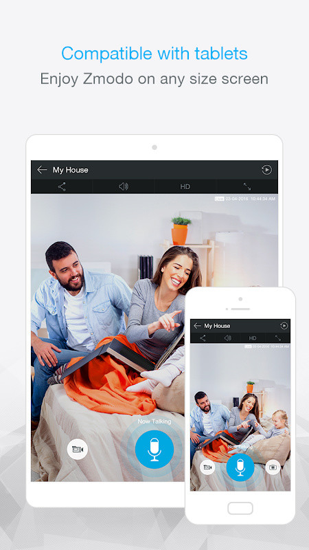 Zmodo Free Android App download - Download the Free Zmodo App to