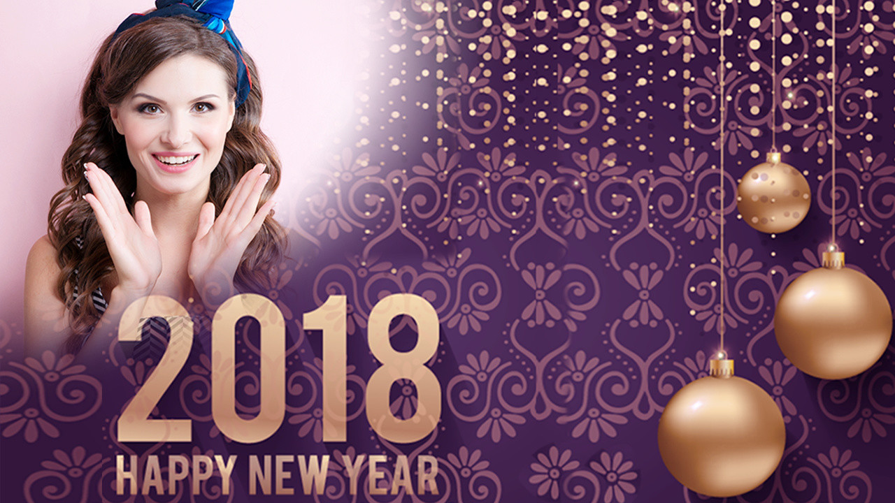 Happy New Year Photo Frame 2018 photo editor Free Android App ...