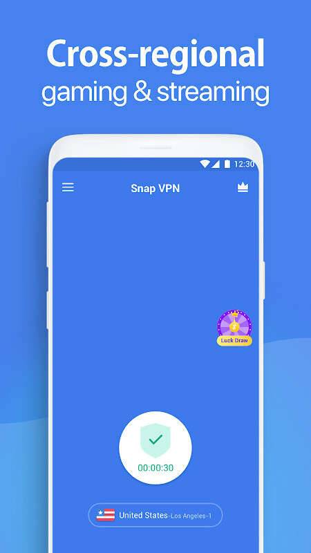Free VPN proxy by Snap VPN Free Android App download