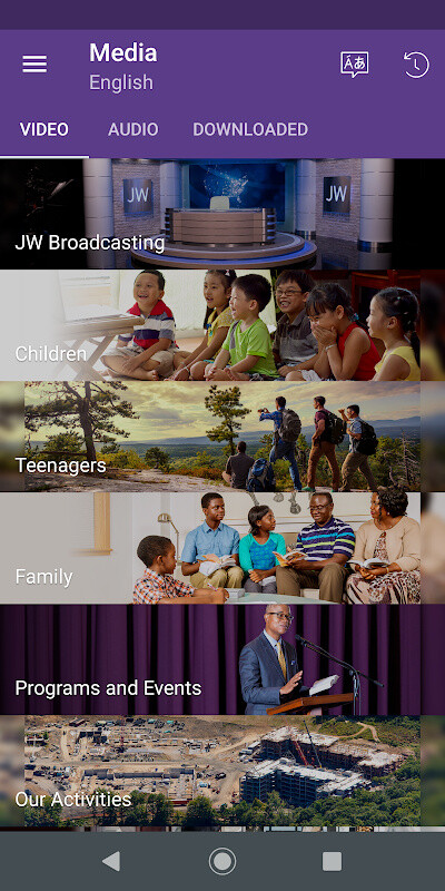 JW Library Free Android App download - Download the Free JW