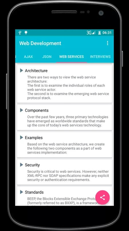Web development Free Android App download - Download the Free Web
