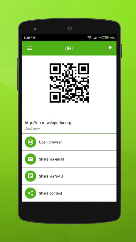 q r code app download