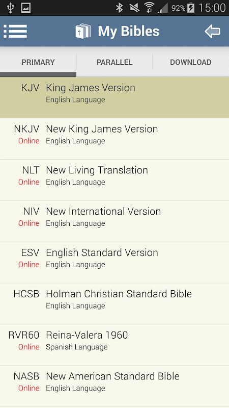 Blue Letter Bible Free Android App download - Download the Free Blue