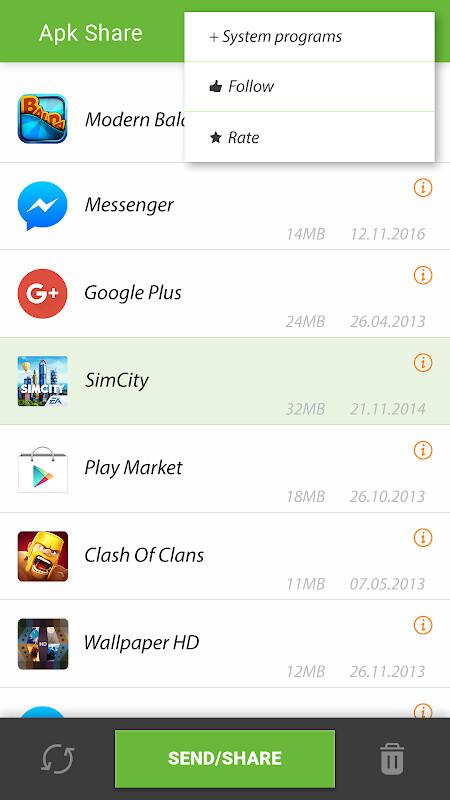 Apk share / app send bluetooth   Apk Share / App Send Bluetooth