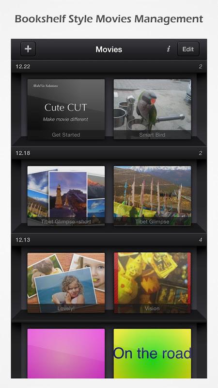 Cute CUT - Video Editor & Movie Maker Free LG Spectrum App