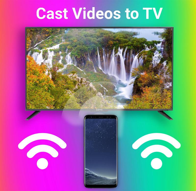 Cast to TV, Chromecast, Roku, Fire TV, Smart TV Free Samsung